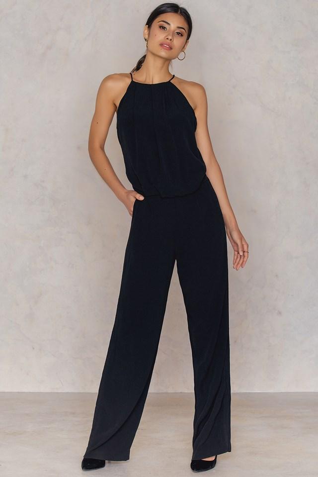 Willow Jumpsuit Black