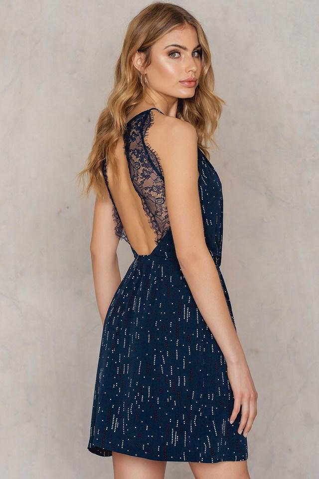 Willow Short Dress Aop Etoile