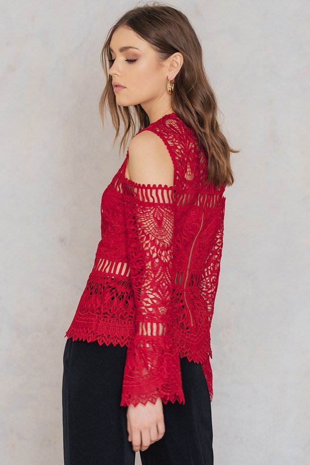 Dillion Top Red