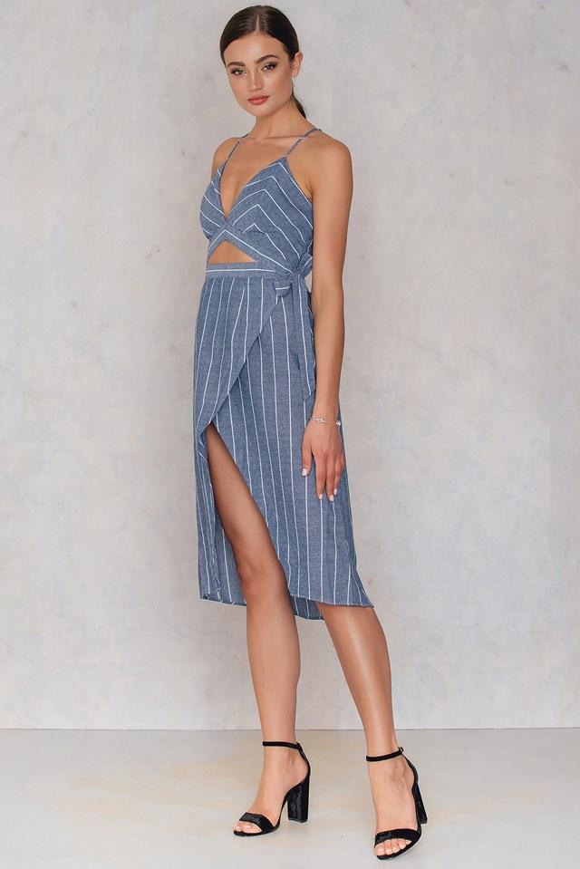 Dorsey Dress Blue