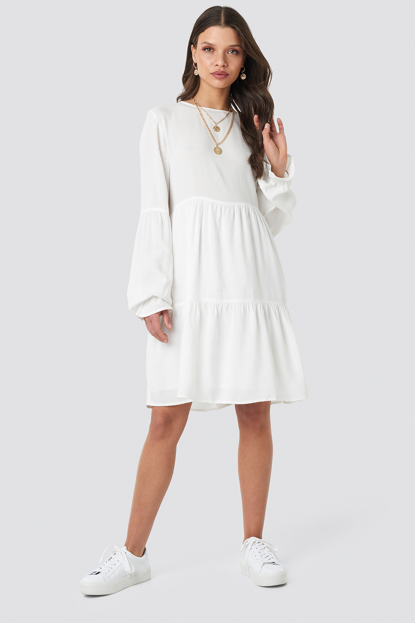 Basic Loose Fit Dress NA-KD.COM