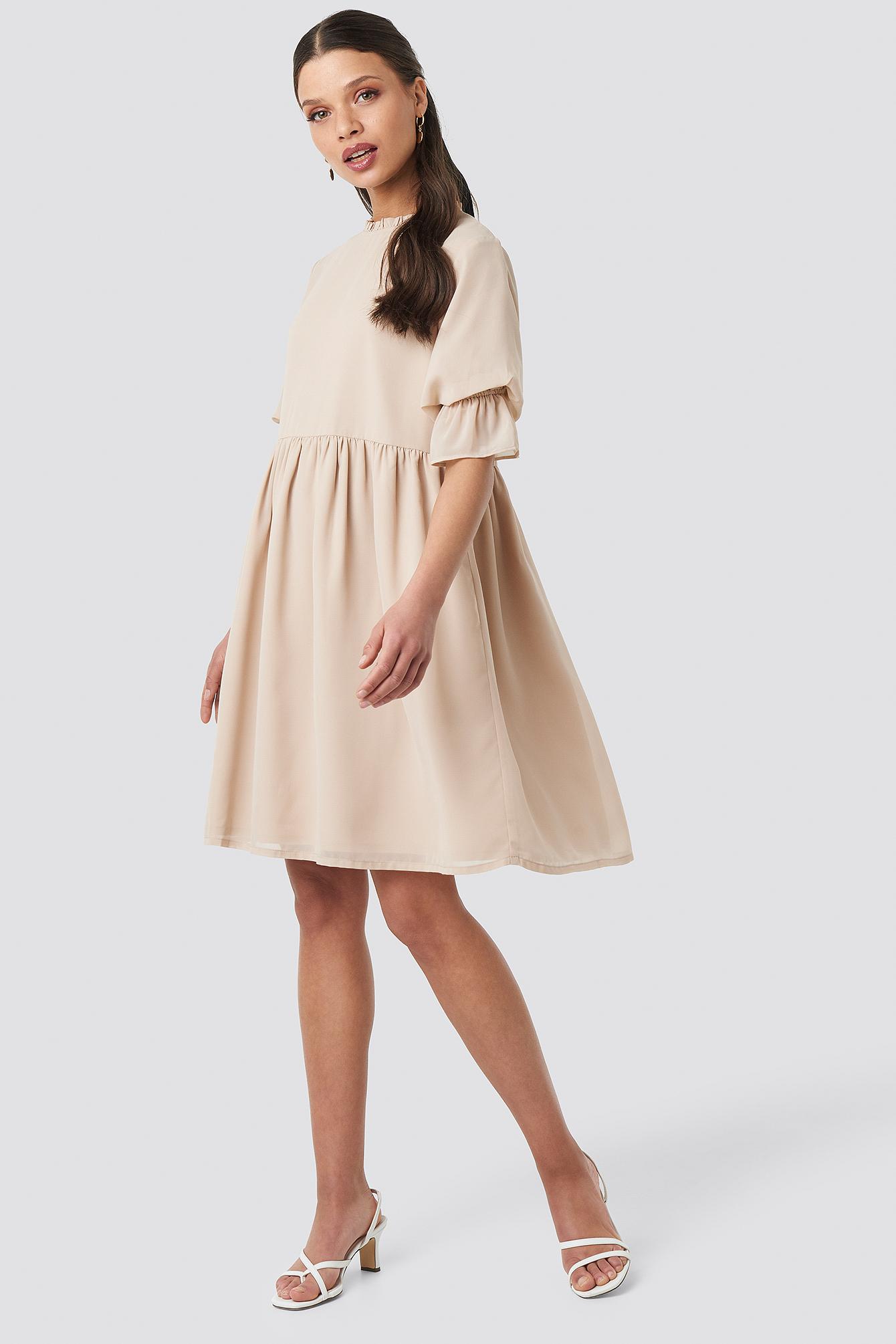 Chiffon Mini Dress NA-KD.COM