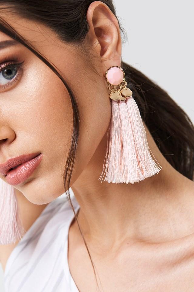 Tassel Pearl Earrings NA-KD.COM