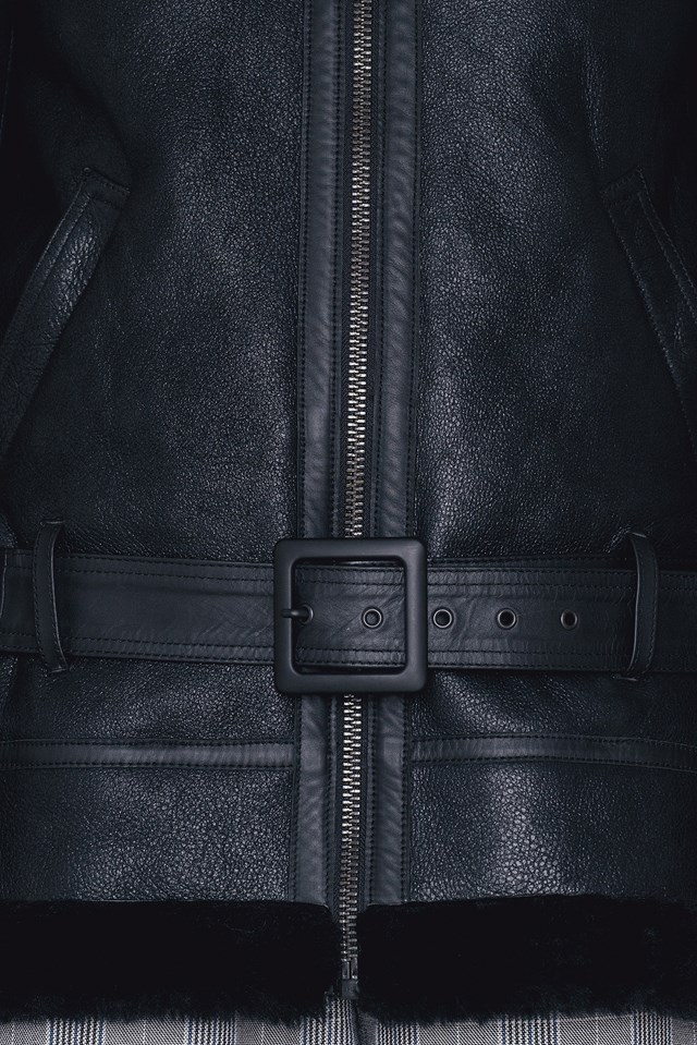 Lc W Leather Jacket Black