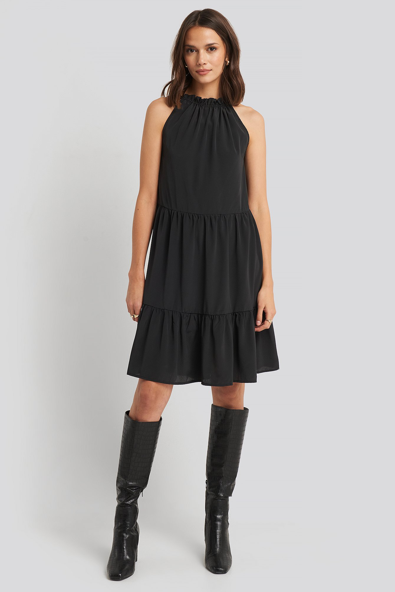 Sisters Point Glass Dress - Black