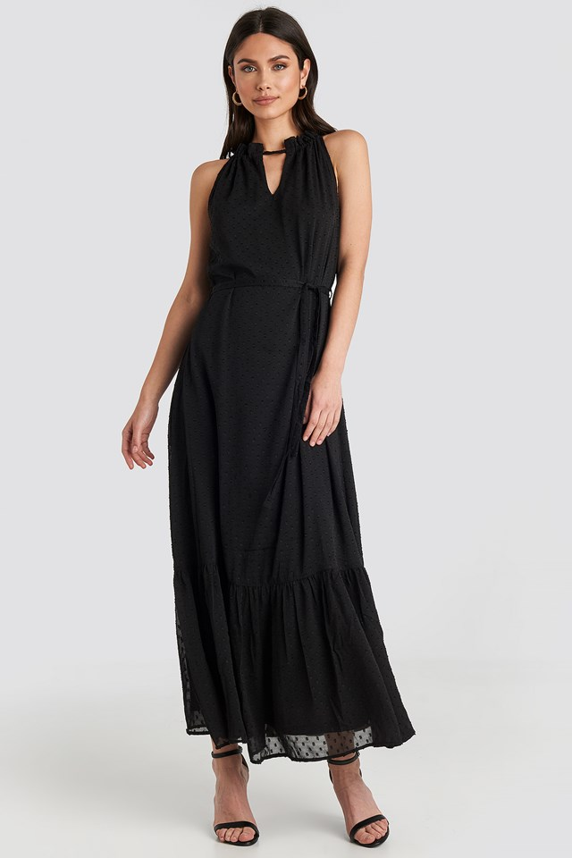 Itak Dress Black
