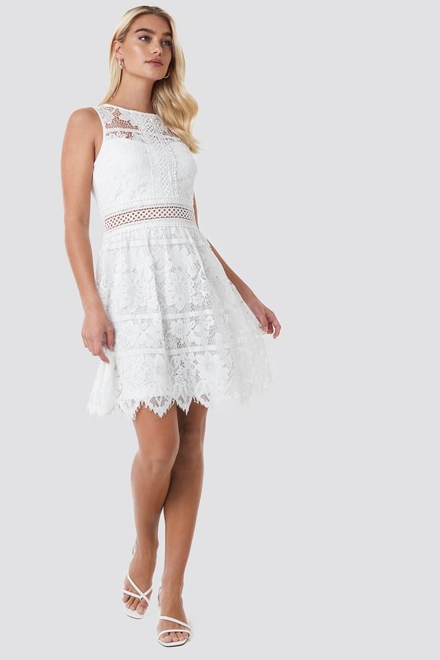 WD Dress 38 Cream