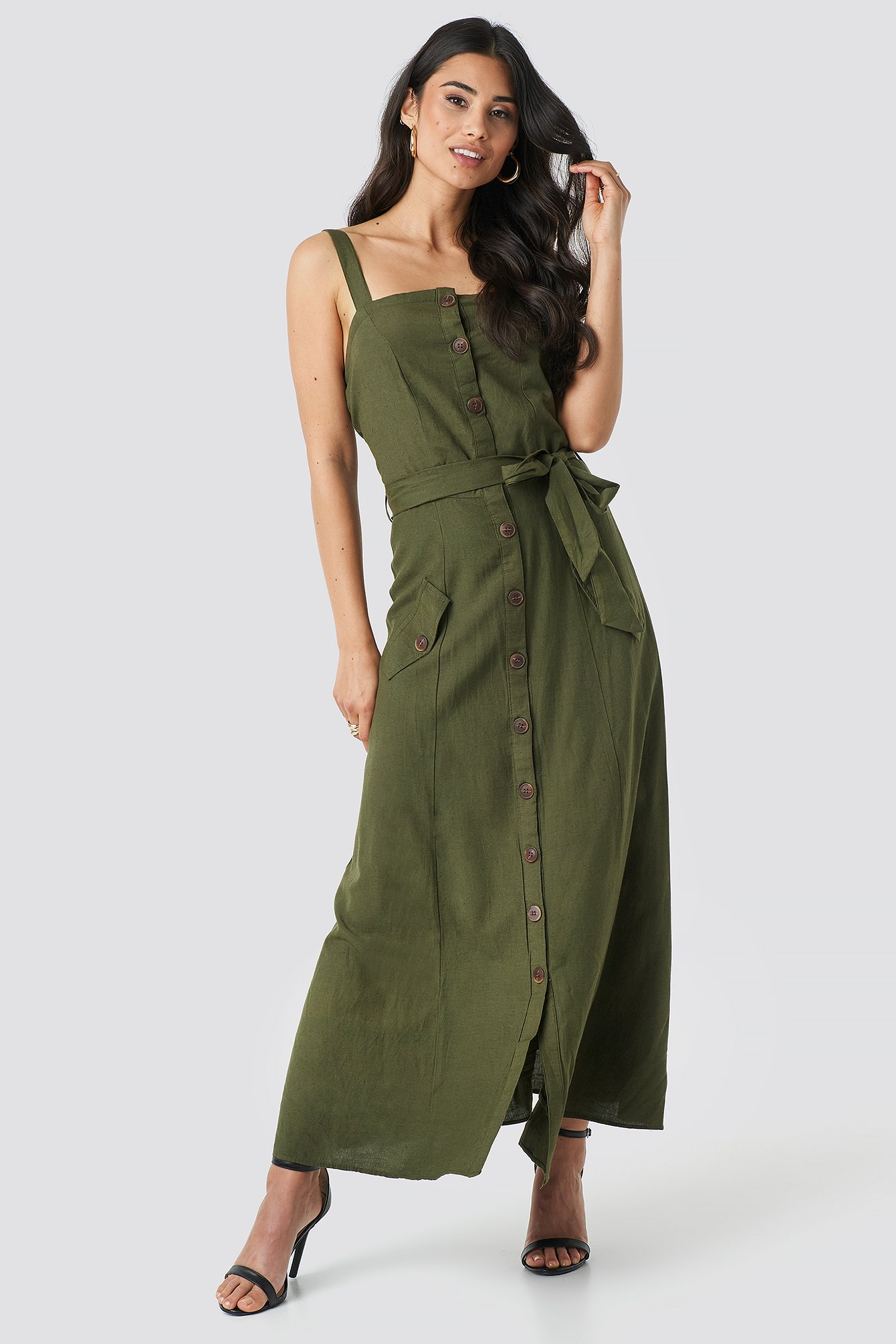 Sisters Point Bina Dress - Green