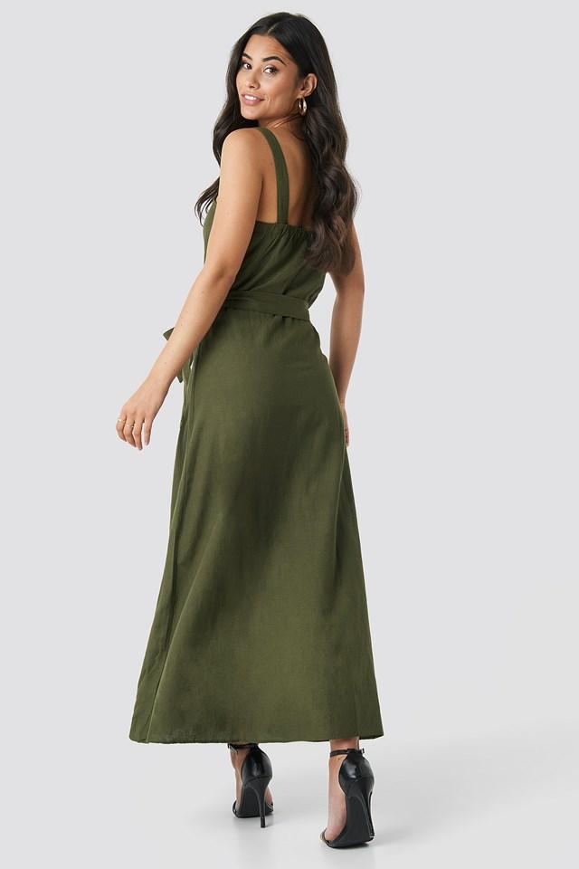 Bina Dress Khaki