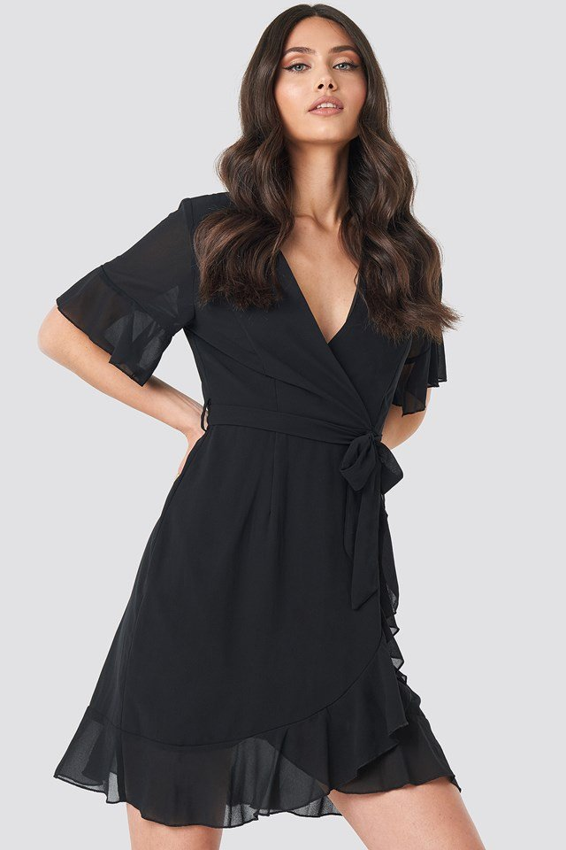 Greto Dress Black