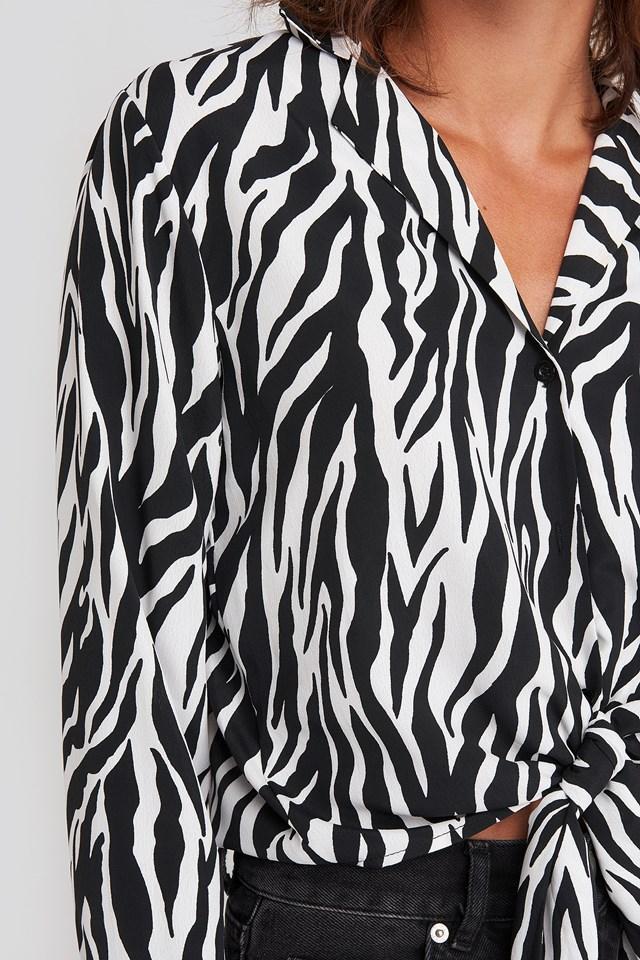 Ellida Shirt Cream Black