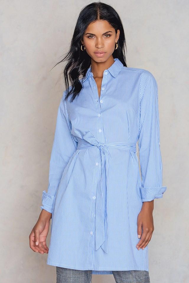 Koszula Enno White/Blue