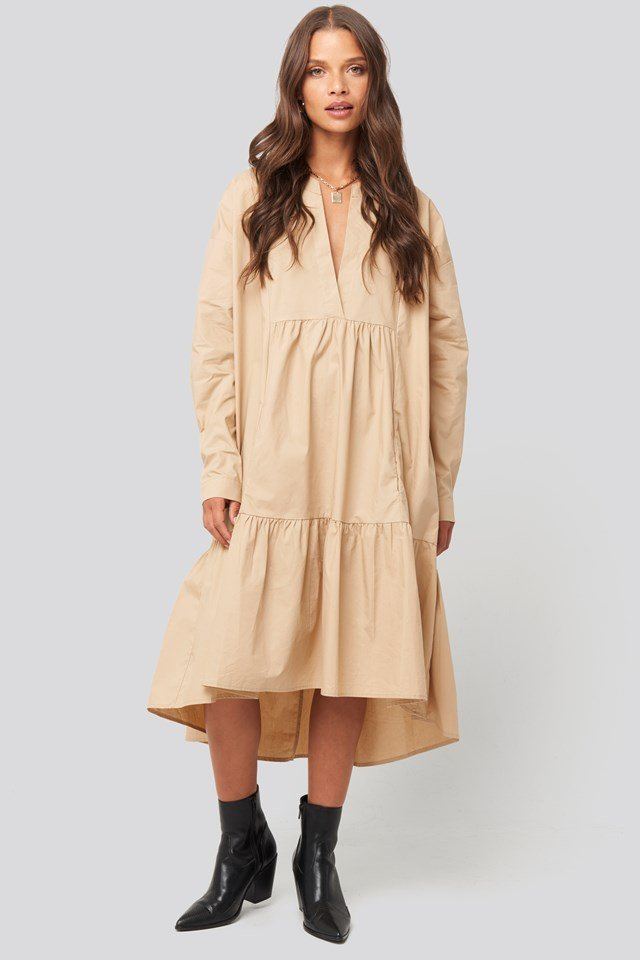 Ento Dress Camel