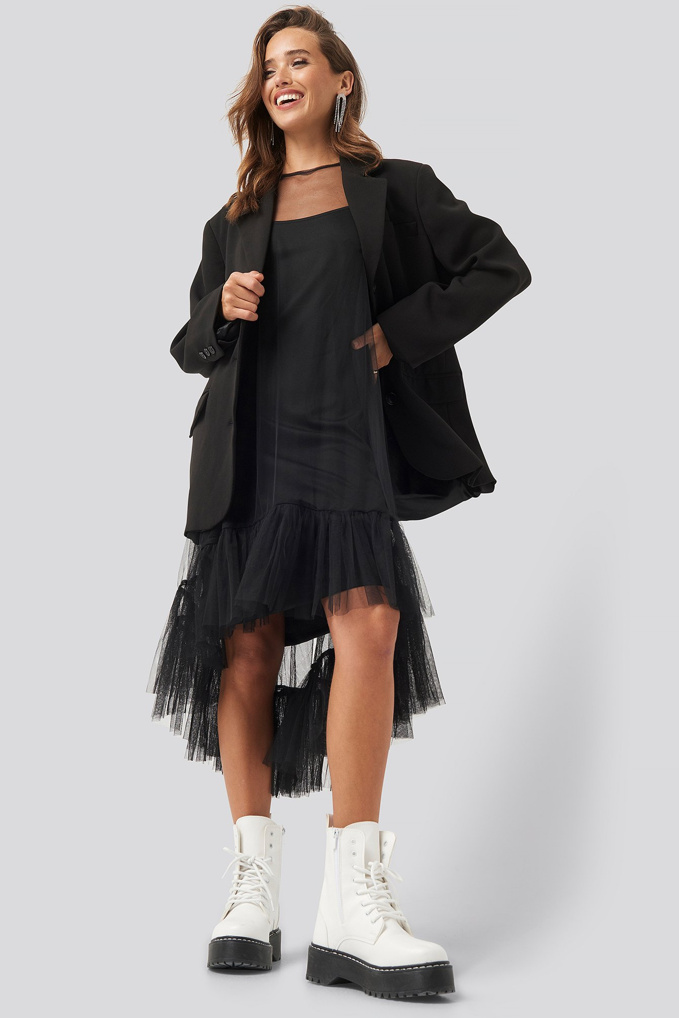 Black Epis Dress