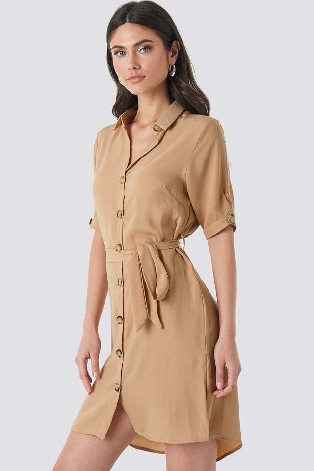 Erob Dress Camel