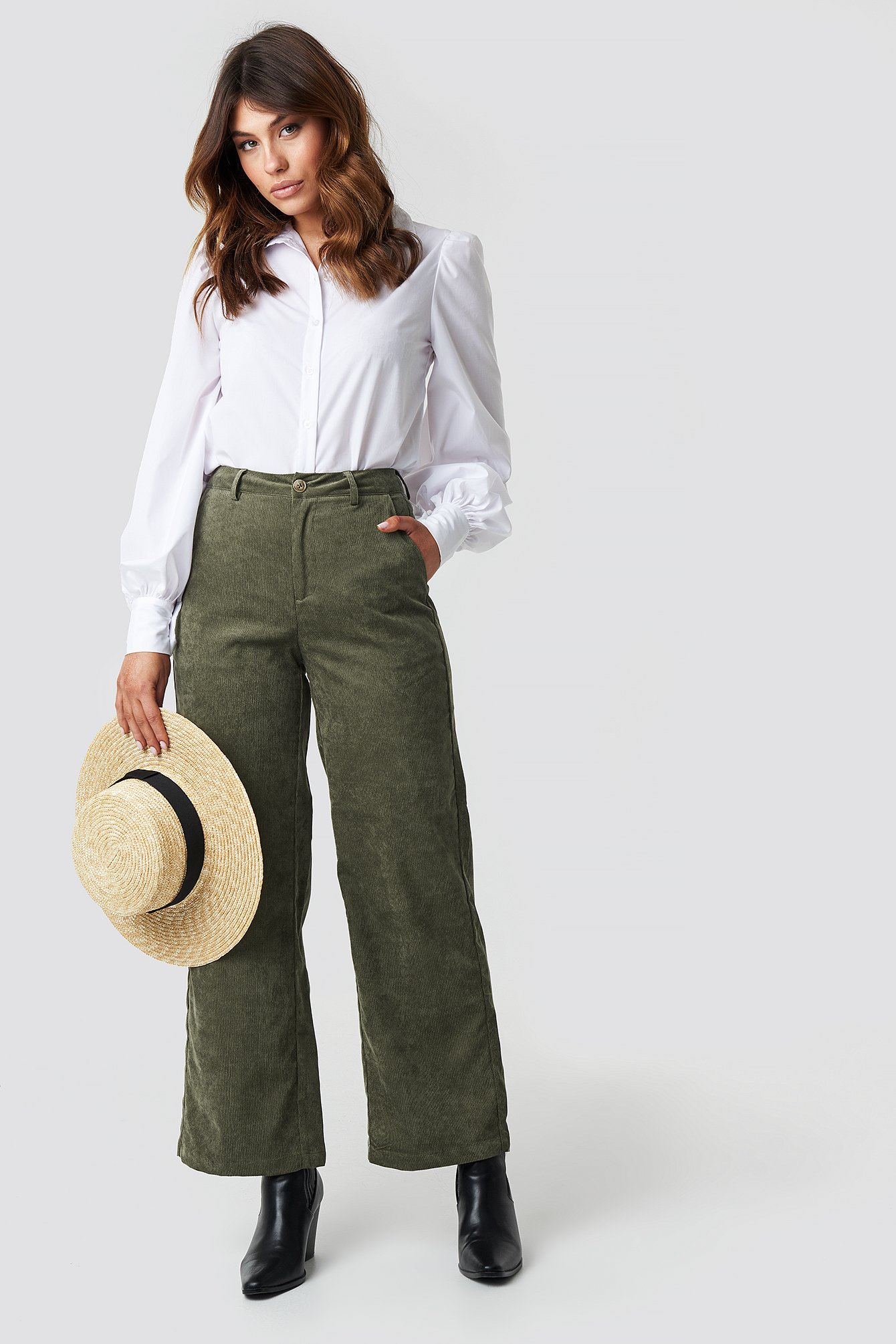 sisters point -  Ester Pants - Green