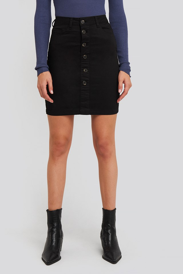 Freya Skirt Black