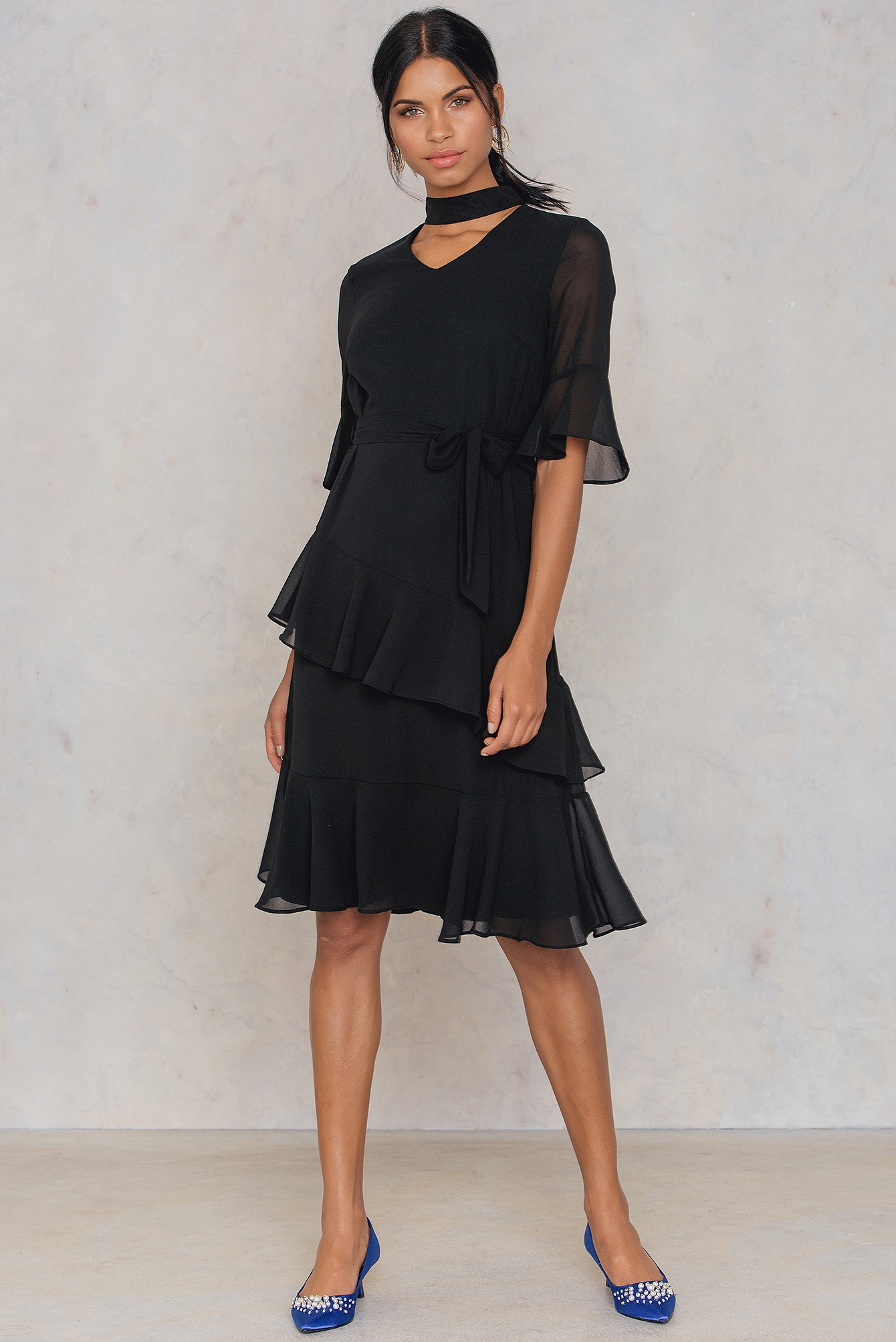 Black Gabit Dress