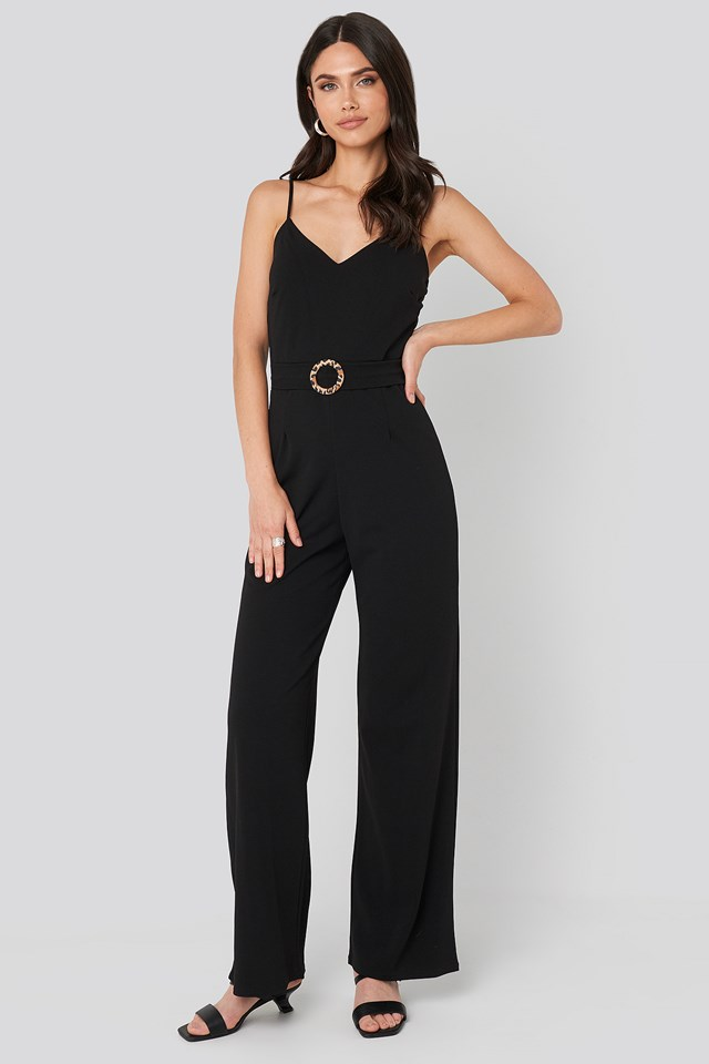 Galma Jumpsuit Leo/Black