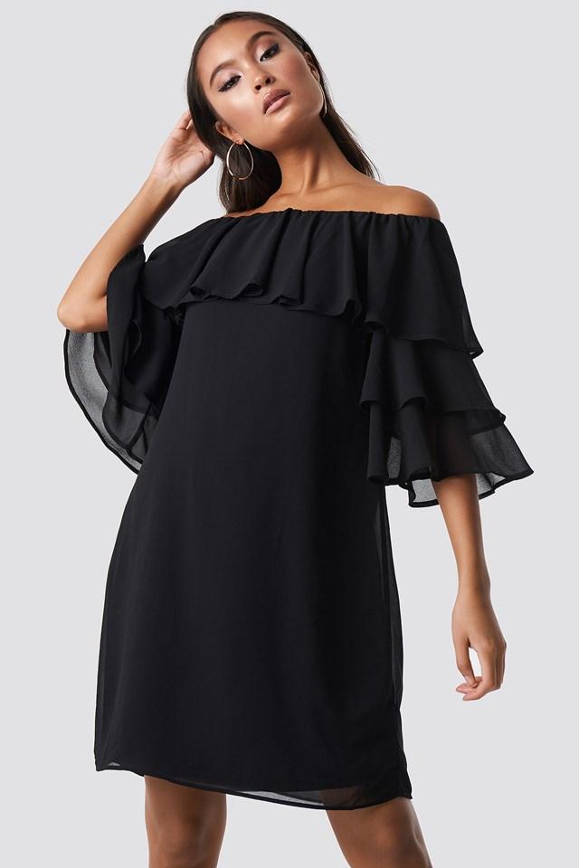 Gava Dress Black