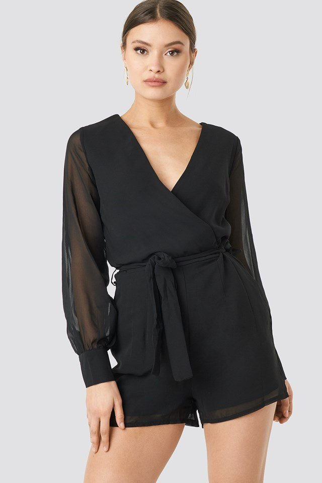 Gerdo Playsuit Black