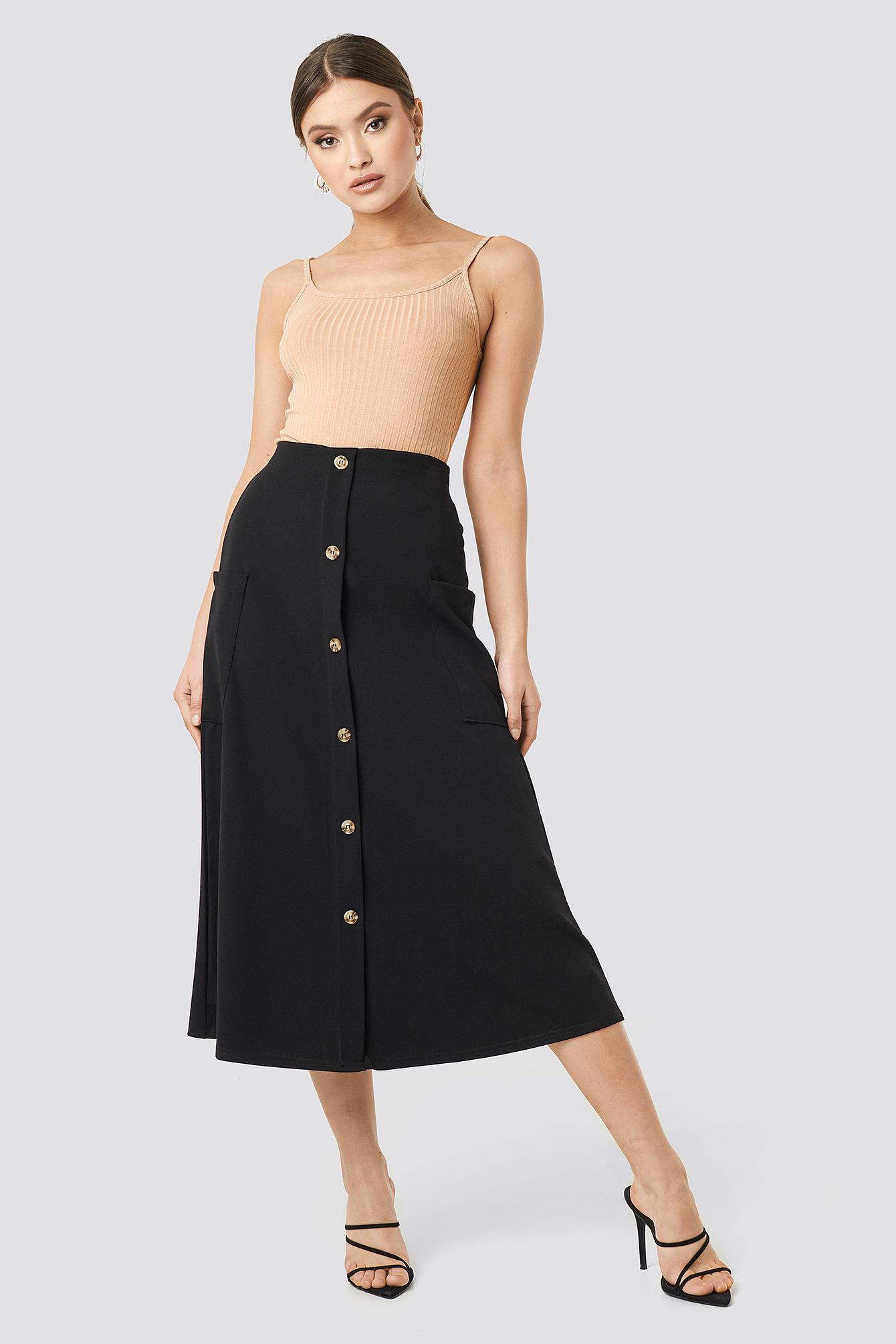 Gin Skirt NA-KD.COM