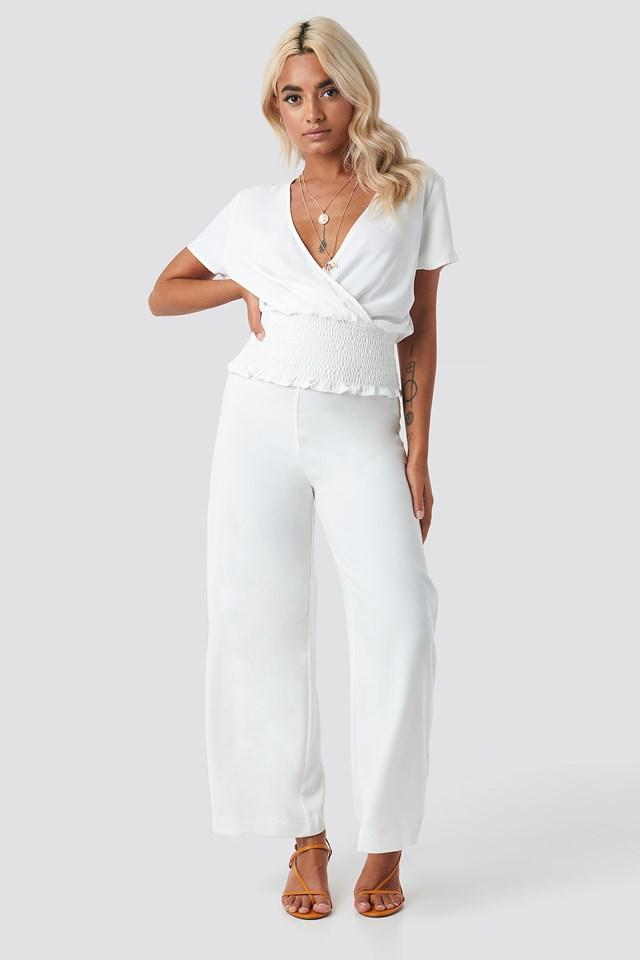 Githa Short Sleeve Blouse NA-KD.COM