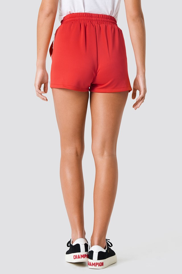 Glen Shorts Red/White