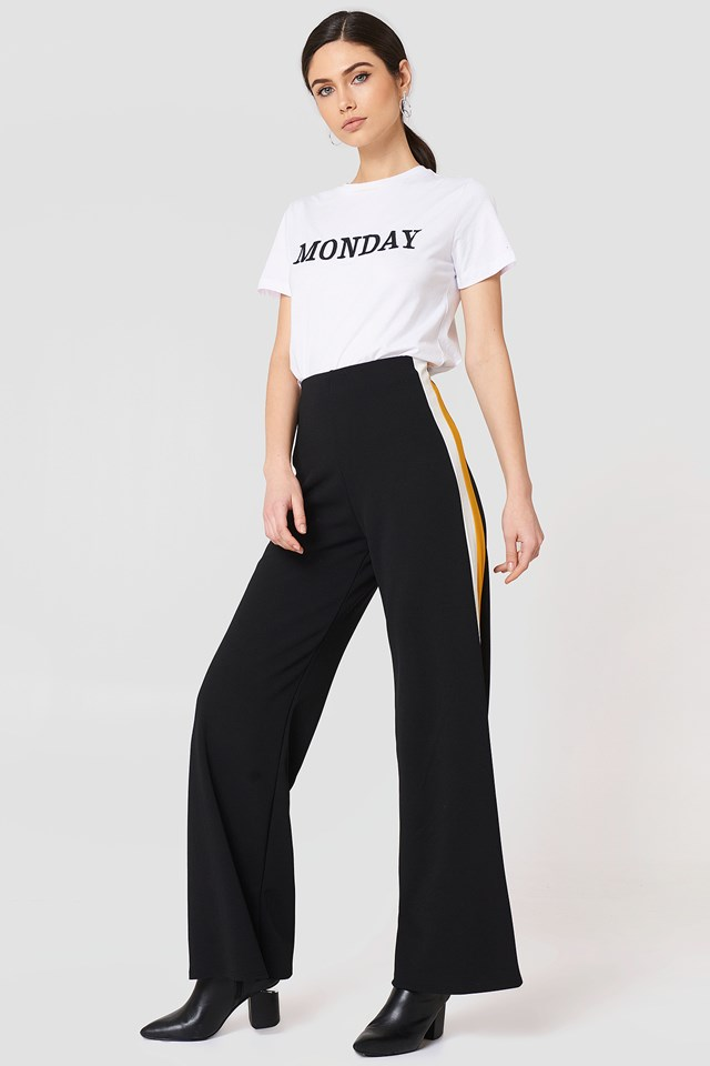 Glut Pants Black/White/Yellow