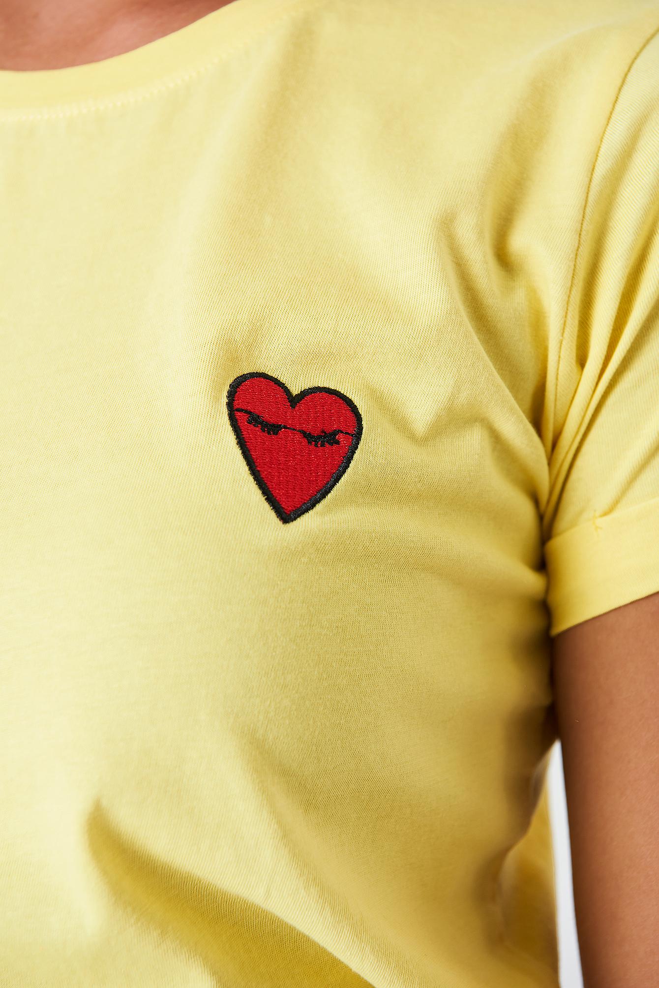 T-shirt Herm Sun NA-KD.COM