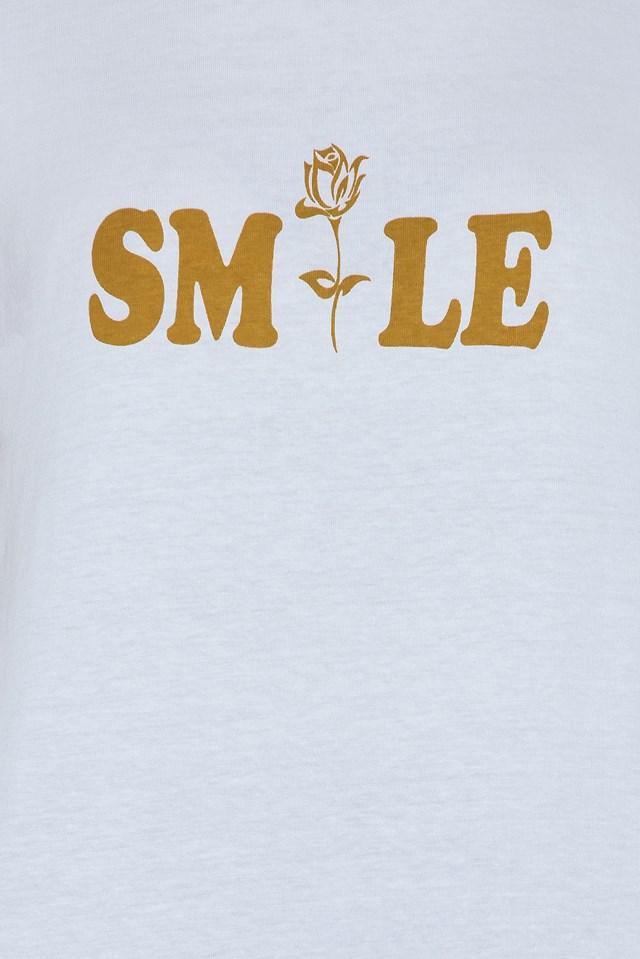 Herm T-Shirt White/Saffran