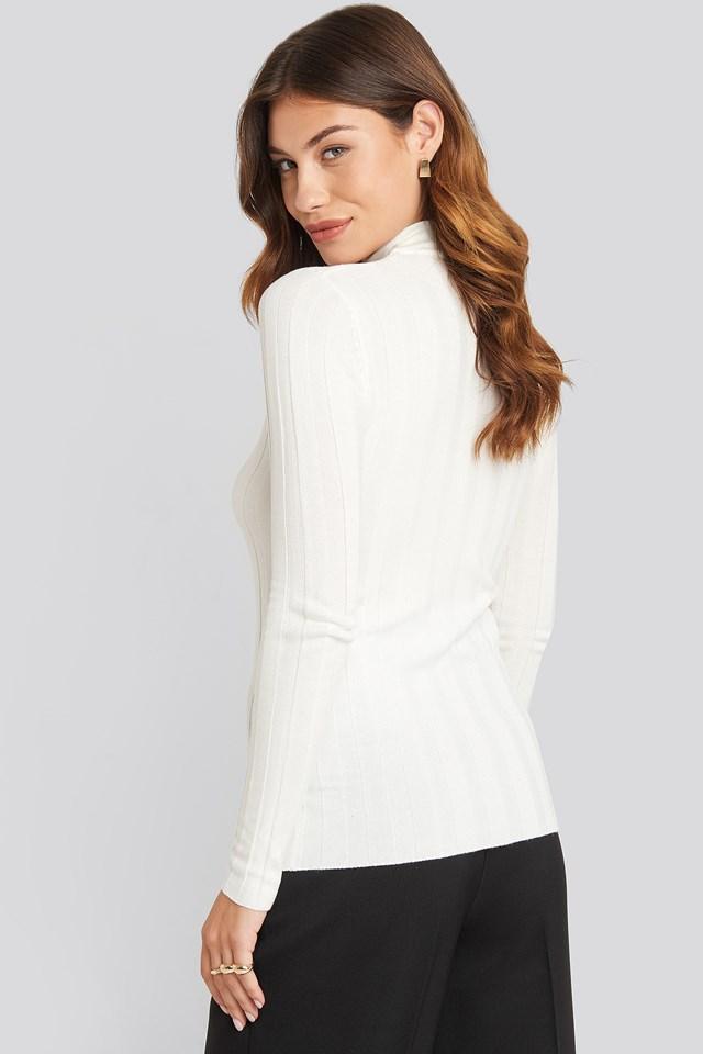 Hott Knitted Sweater Cream