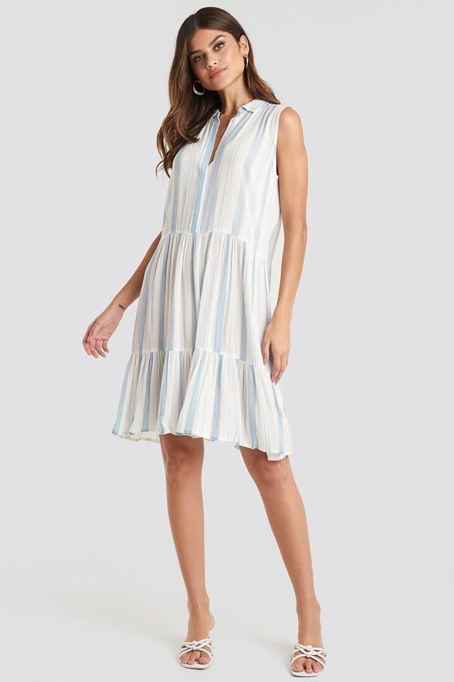 Iloss Dress Light Blue