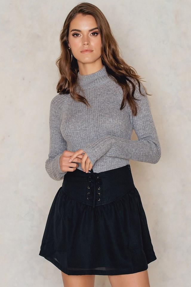 Iska Skirt Black