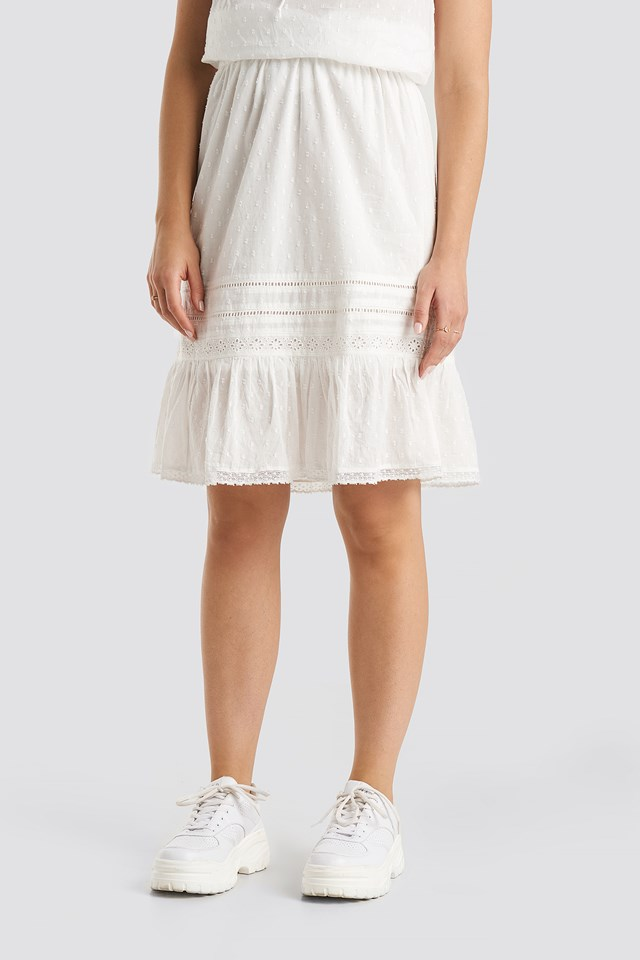 Ivy Skirt Cream