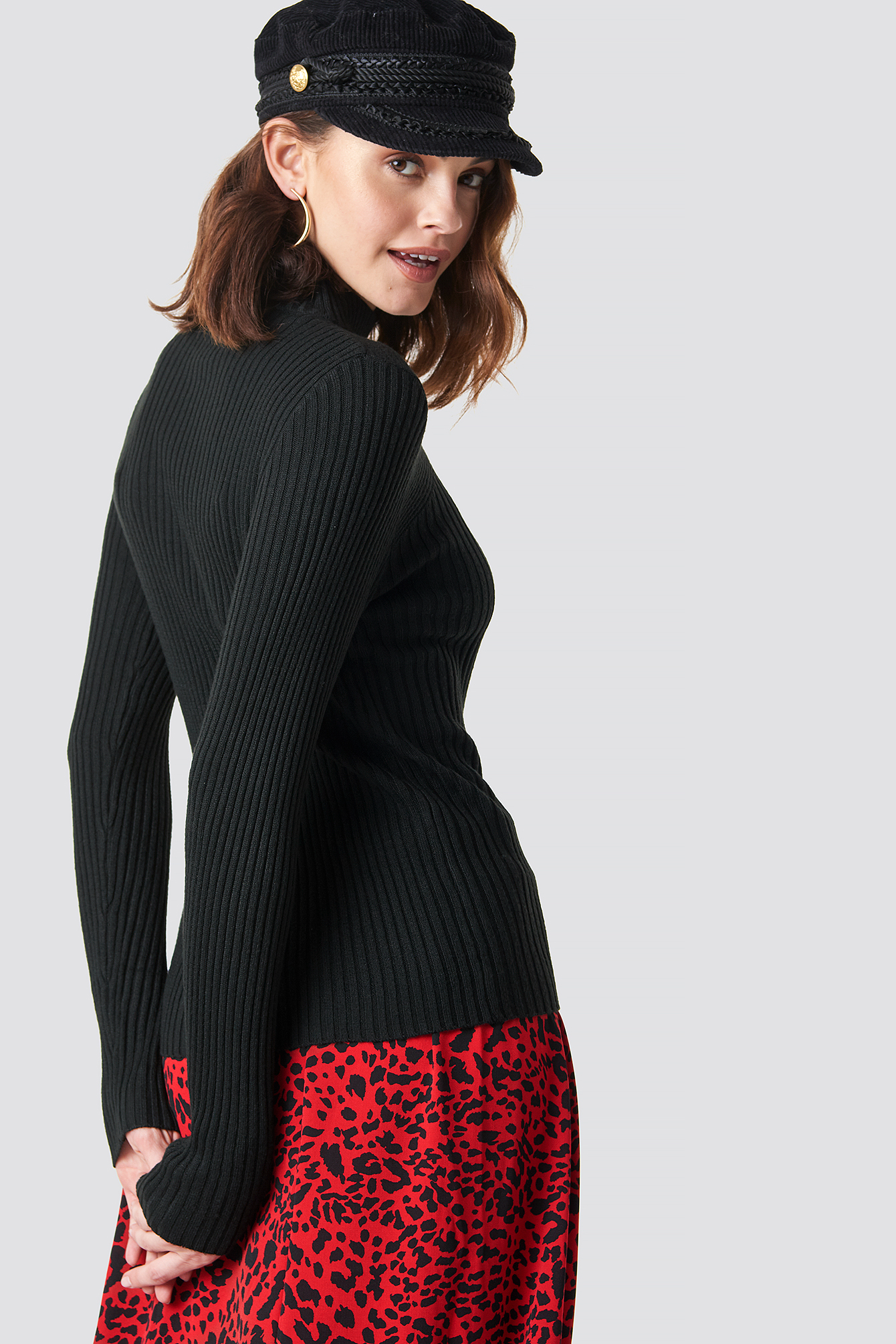 Leni Turtleneck Sweater NA-KD.COM