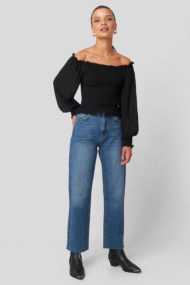 Nea A Shirt Black