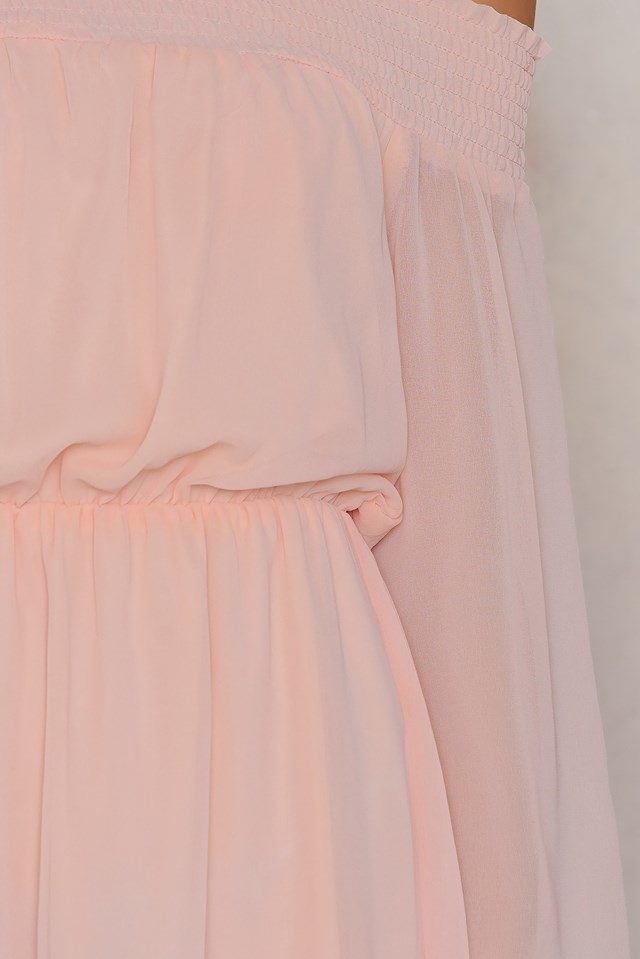 Netto Dress Light Rose