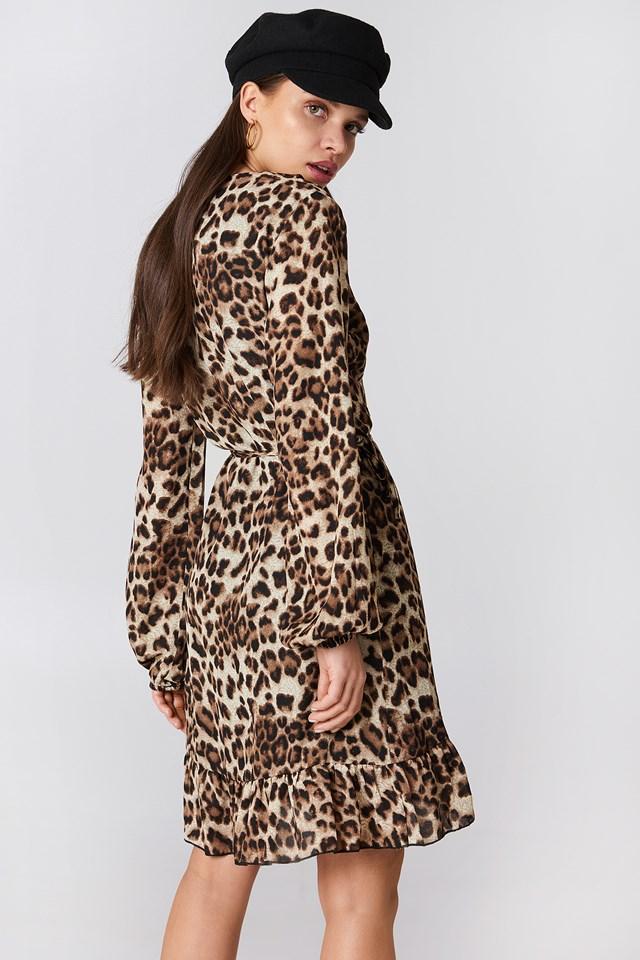 Nexus Midi Dress Animal