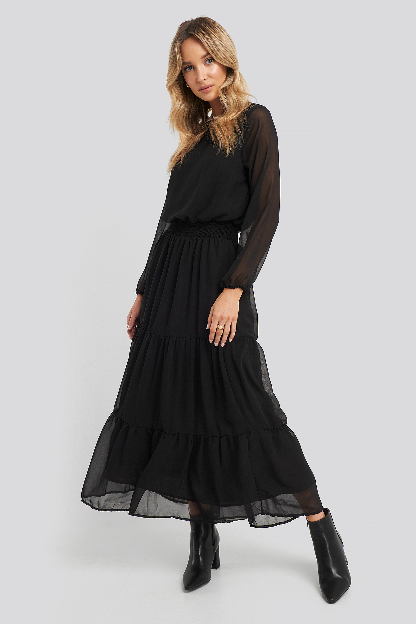 Sisters Point Nicoline-M Dress - Black