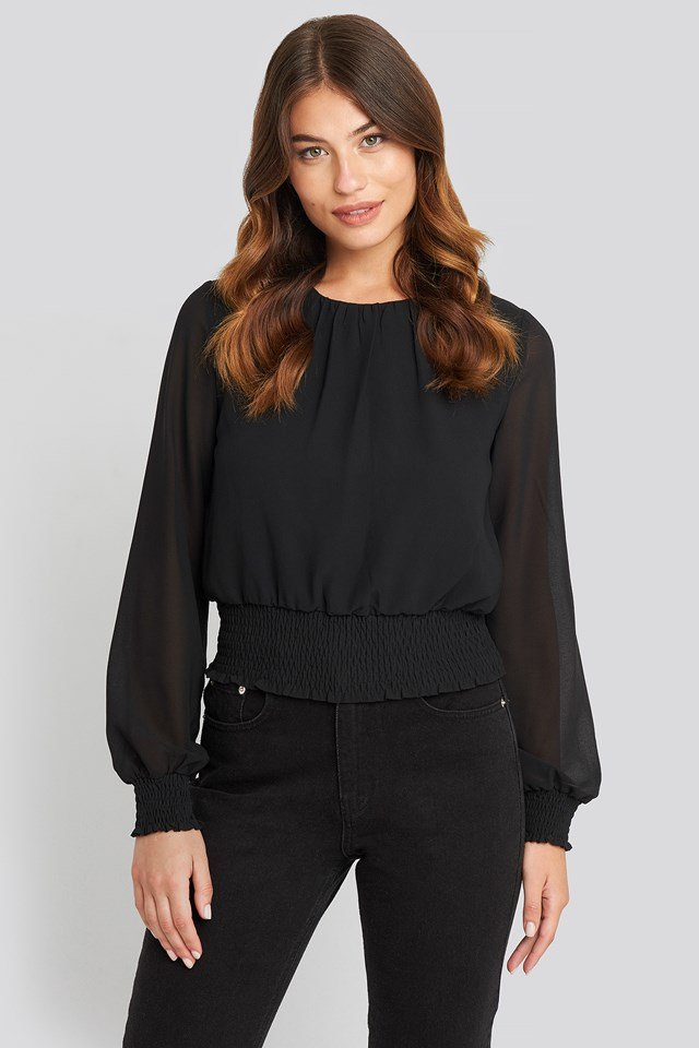 Nicoline Top Black