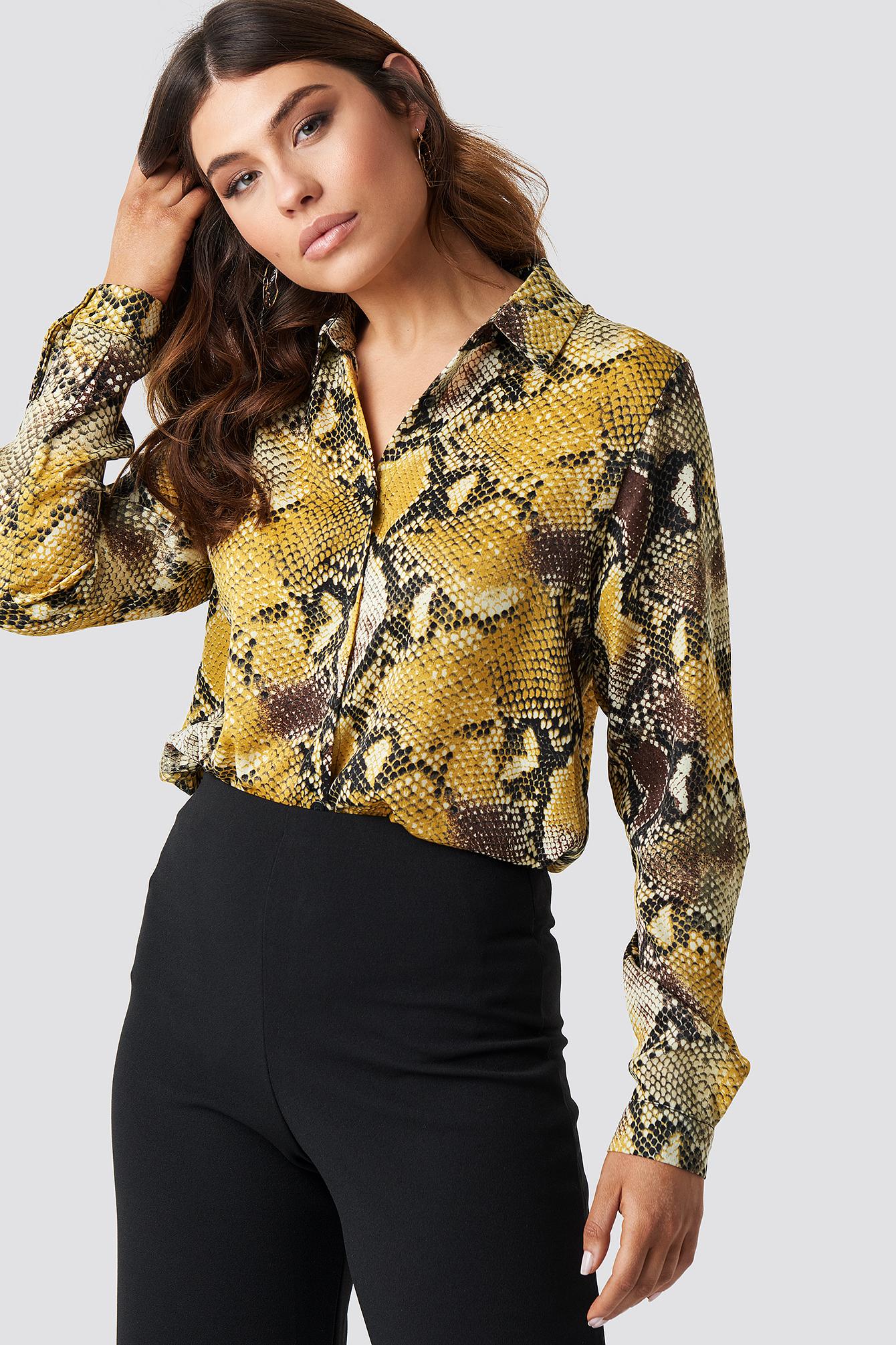 Nit Shirt NA-KD.COM