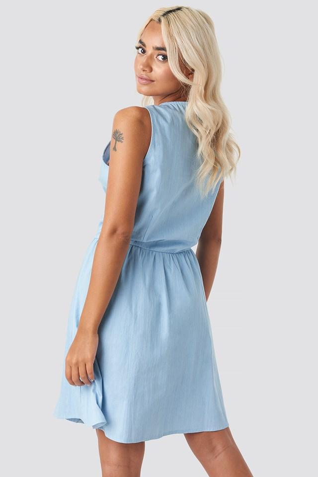 Nopi Dress Light Blue