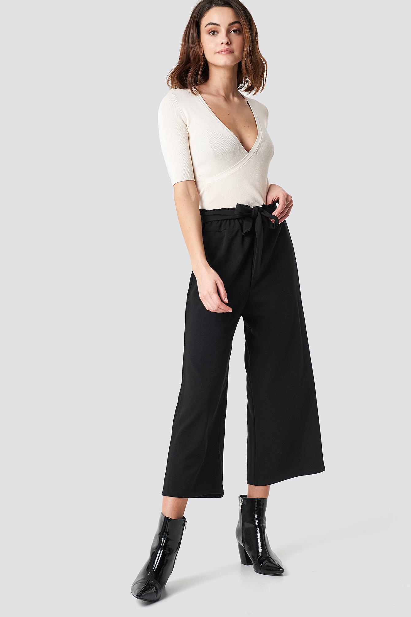 sisters point -  Noto Pants - Black