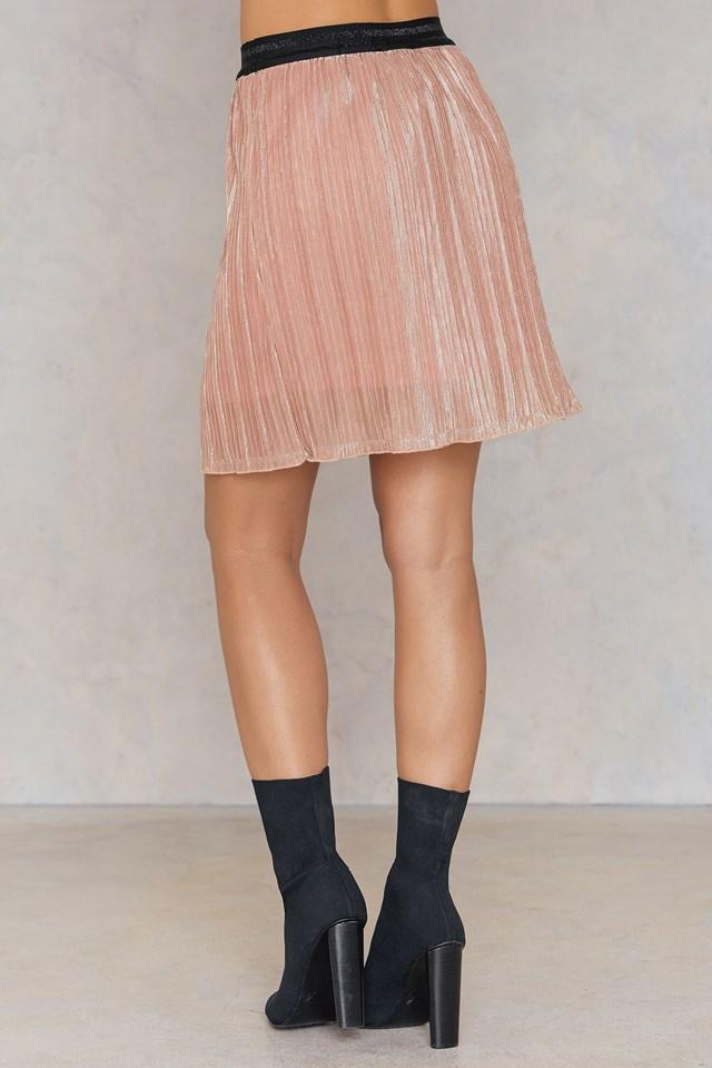 Vaks Skirt Dusty Rose