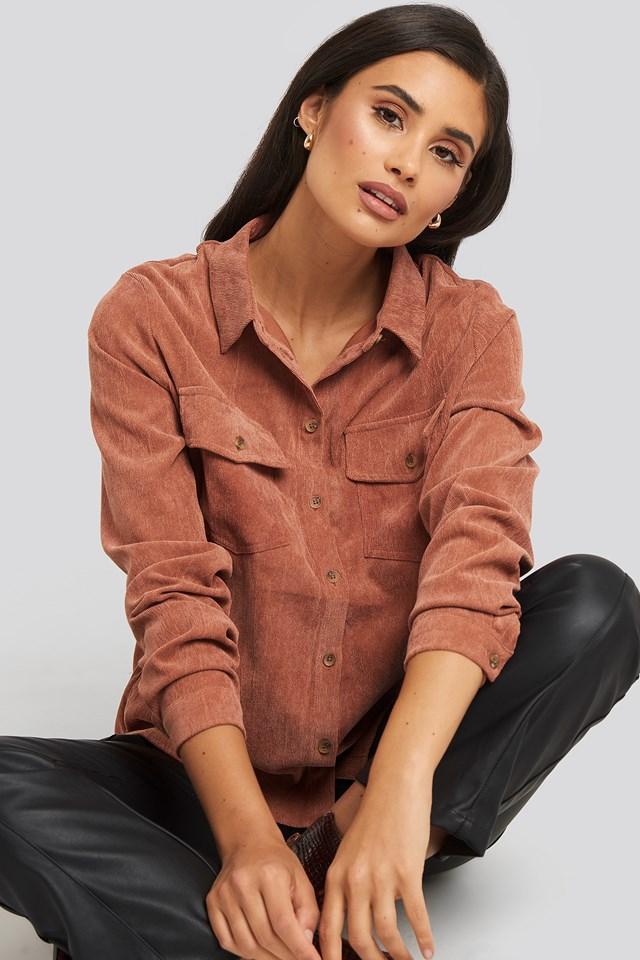 Vester Shirt Rust