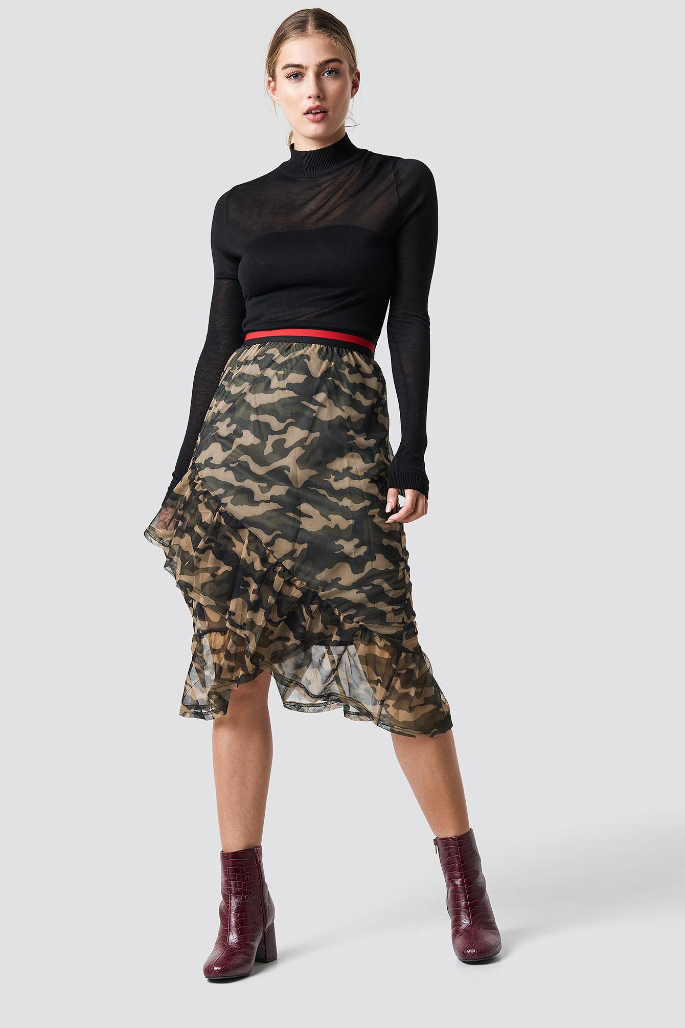 Vezzi Skirt NA-KD.COM