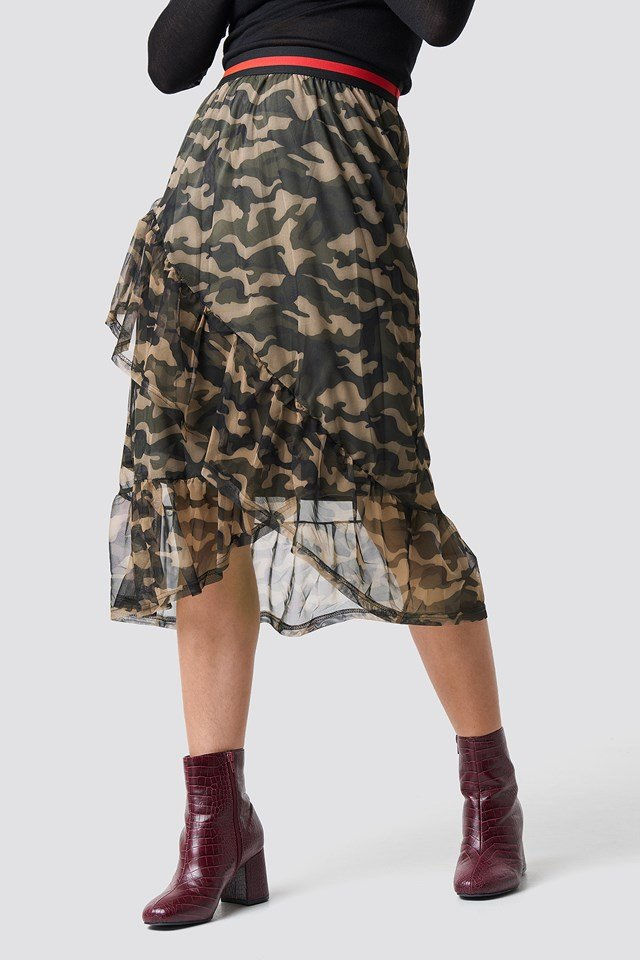 Vezzi Skirt Camouflage