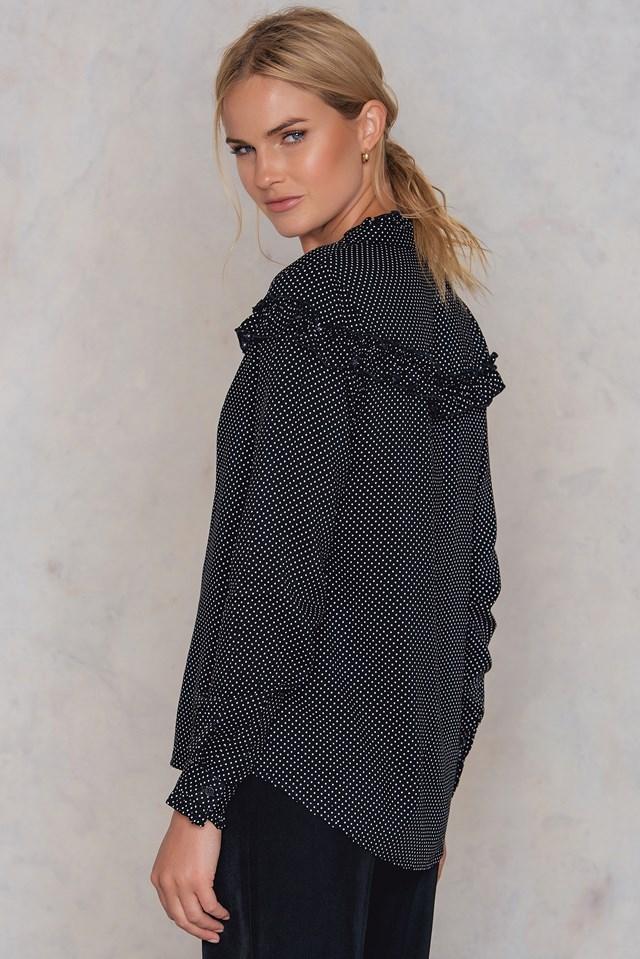 Villy Shirt Black/White