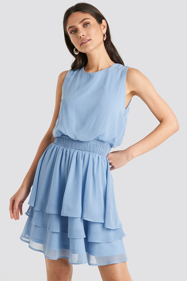 Nicoline Dress Light Blue